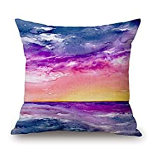 Scenery Pillow Covers Best For Car Seat Lounge Festival Son Christmas Office 18 X 18 Inches / 45 By 45 Cm(each Side)