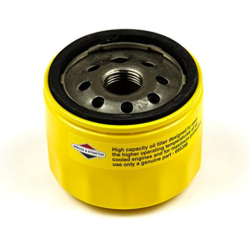 Briggs Stratton Lawn Tractor (Briggs & Stratton 696854 Oil Filter Replacement for Models 79589, 92134GS, 92134 and 695396)