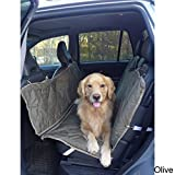 Carolina Pet Company Brutus Tuff Backseat Hammock Olive 56x57''