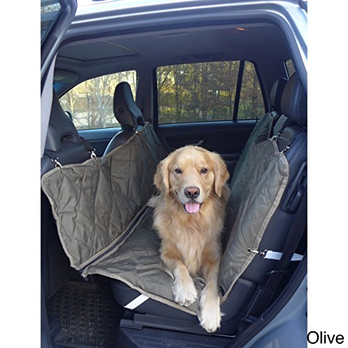 Carolina Pet Company Brutus Tuff Backseat Hammock Olive 56x57'' by Carolina Pet