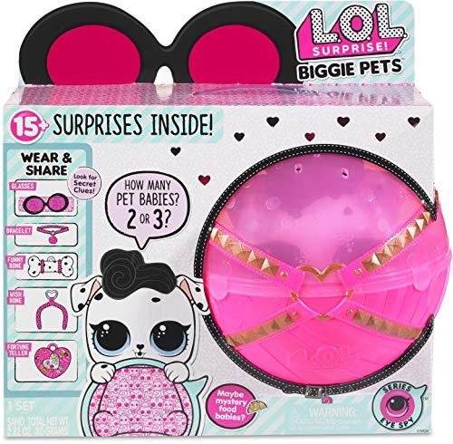 L.O.L. Surprise! Biggie Pet – Dollmatian Chica – Kits de figuras de juguete para niños (Multicolor, Chica, 12 año(s), De…