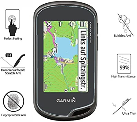 t t Tempered Glass Screen Protector for Garmin Oregon 600 Akwox 0.3mm 9H Hard Scratch-resistant Screen Protector for Garmin Oregon 600 600t 650 650t 750 AK-GL078 // 650 Pack of 4 // 750 GPS