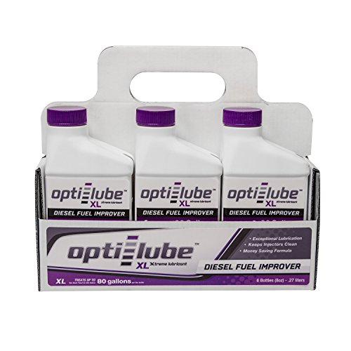 Opti-Lube XL Xtreme Lubricant Diesel Fuel Additive: 8oz 6 Pack Treats up to 80 Gallons per 8oz bottle