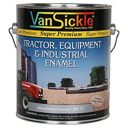 VAN SICKLE PAINT 40171 Aluminum Enamel Paint, 1 gallon