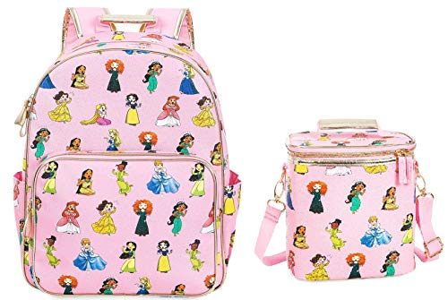 2019 Princess Backpack and Lunch tote set