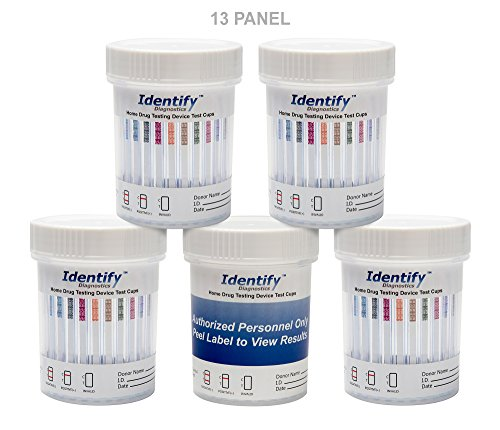 25-Pack-Identify-Diagnostics-13-Panel-Drug-Test-Cup-with-BUP-Testing-Instantly-for-13-Drugs-THC-COC-OXY-MDMA-BUP-MOP-AMP-BAR-BZO-MET-MTD-PCP-TCA-ID-CP13