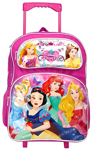 (Princess 16 inches Large Rolling Backpack - 13089)
