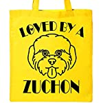 Inktastic Zuchon Dog Mom Gift Tote Bag 3
