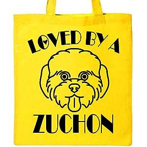 Inktastic Zuchon Dog Mom Gift Tote Bag 2
