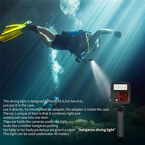 Shoot Waterproof Diving Kangaroo LED Light for GoPro Hero 7 6 5 4 3+