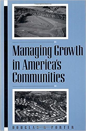Managing Growth in Americas Communities