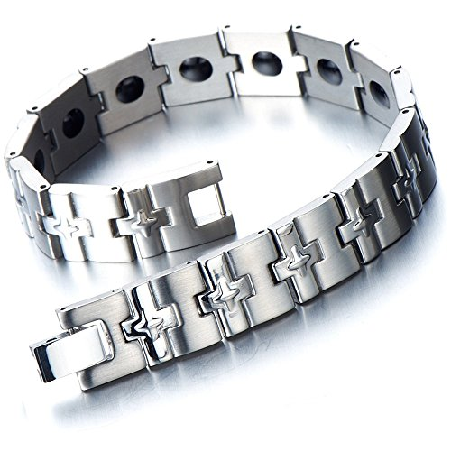Refined Stainless Jewelry Magnetic Bracelet