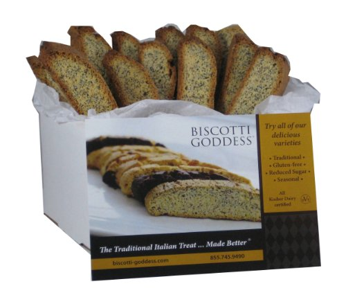 Biscotti Goddess Gluten Lemon Poppy product image