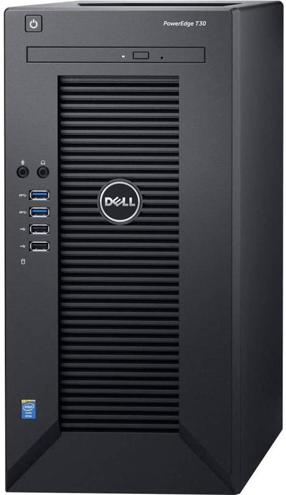 2019 Dell PowerEdge T30 Mini Tower Server System Business Desktop Computer, Intel Quad-Core Xeon E3-1225 v5 Processor, 8GB DDR4 RAM, 1TB 7200RPM HDD, DVDRW, No Operating System