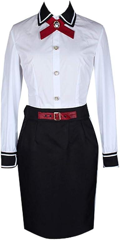 Disfraz de Elizabeth para Mujer, Color Blanco, Falda Negra para ...