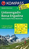 Unterengadin - Bassa Engadina - Nationalpark - Parco Nazionale: Wanderkarte. GPS-genau. 1:40000 (KOMPASS-Wanderkarten, Band 98)