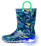Outee Toddler Kids Adorable Printed Light Up Rain