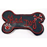Amazon.com : Pawsitively Gourmet 4 Inch Woof Bone Cookies ...