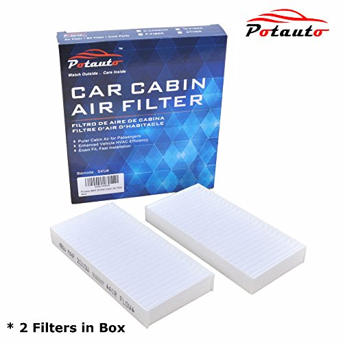 POTAUTO MAP 2010W Cabin Air Filter Replacement compatible with JEEP, WRANGLER