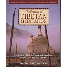 The Practice of Tibetan Meditation: Exercises, Visualizations, and Mantras for Health and Well-being by Dagsay Tulku Rinpoche (2002-02-01)