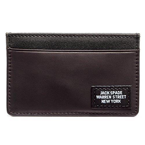 Credit Holder Spade Jack Spade Card Black Waxwear Jack 1Sx7gqI
