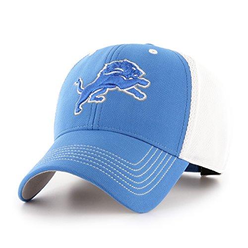 NFL Detroit Lions Sling OTS All-Star MVP Adjustable Hat, Blue Raz, One Size