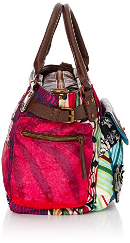 Aturquesado Cross Bols Bag Mcbee 4100 Bruselas Verde Multicolore Desigual Women's body xI5vqvaw