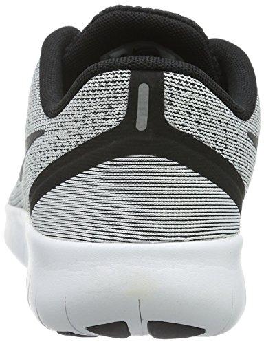 Nike White/Black, Zapatillas de Deporte Para Niños Blanco (White / Black)