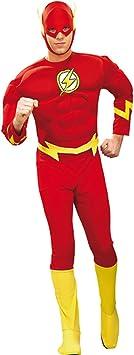 Original disfraz de flash XL 56/58 superhéroe flash disfraz Carnaval ...