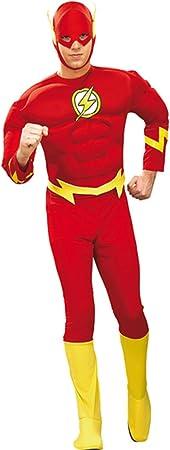 Original disfraz de flash XL 56/58 superhéroe flash disfraz ...