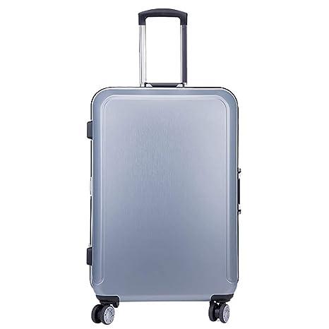 9dd9ec39f shan Maleta De Equipaje Universal para Trolley Caja De Aluminio Cuadro De  Trolley Hombres Y Mujeres