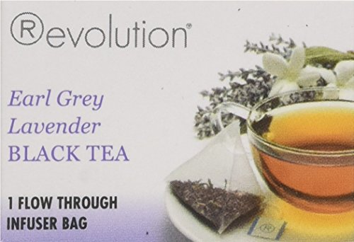 Revolution Tea Earl Grey Lavender Black Tea, 30 Count
