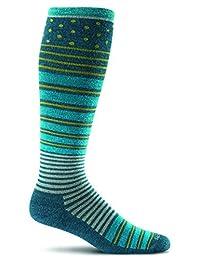 Sockwell Women's Twister Firm (20-30mmHg) Graduated Compression Socks