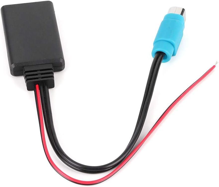 Cable Adaptador Bluetooth AUX-IN KCE-237B Ajuste de audio inalámbrico para Alpine CDE-W203Ri IDA X303 X305 X301