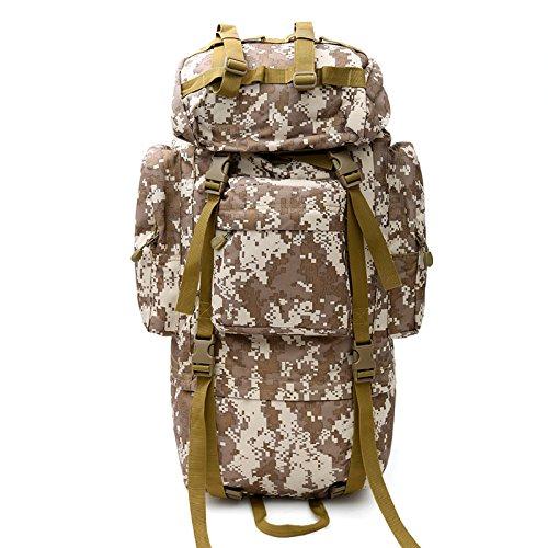 Tarnung Tarnung im Freien Bergsteigen Tasche Wandern Camping Rucksack