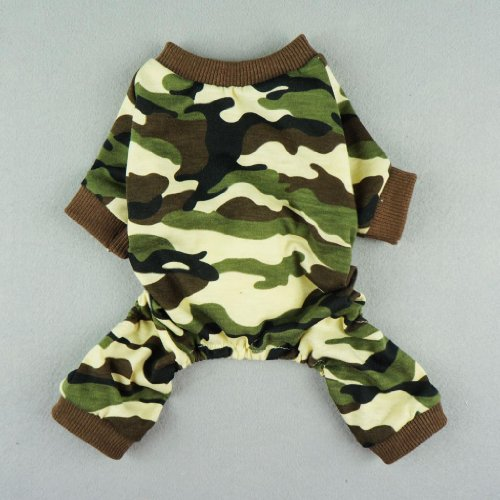 Fitwarm-Stylish-Army-Green-Camouflage-Dog-Shirts-Jumpsuit-for-Pet-Cat-Camo-Clothes-Apparel