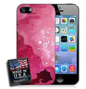 Vector Hawaiian Girl iPhone 4/4s Hard Case