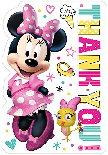 Postcard Thank You | Disney© Minnie Mouse Happy Helpers Collection | Party Accessory]()