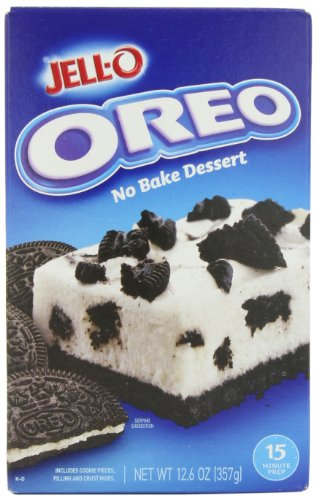 Jell-O No-Bake Oreo Dessert, 12.6-Ounce Boxes (Pack of 5) by Jell-O