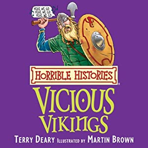 Horrible Histories: Vicious Vikings Audiobook