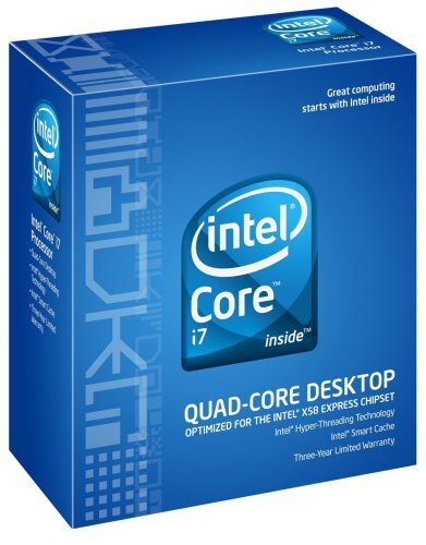 Intel Core i7 Processor i7-920 2.66GHz 8 MB LGA1366 CPU BX80601920 (Cpu I7 1366)