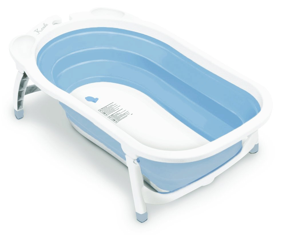 Karibu Baby Folding Bath (Blue): Amazon.co.uk: Baby