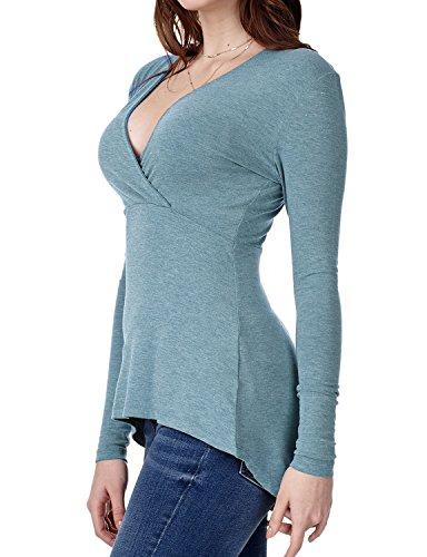 - Regna X Boho for Women's wear with Leggings Plus Curve Tunics Blue 2XL