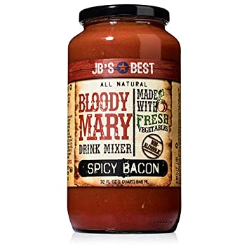 JBs Best Bloody Mary Mix - Spicy Bacon (32 ounce)