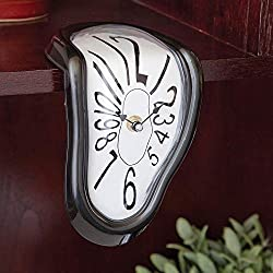 Bits and Pieces - Melting Time Warp Clock - Inspired by Salvador Dali