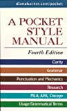 Pocket Style Manual 4e and APA Quick Reference Card and MLA Quick Reference Card, Hacker, Diana and Fister, Barbara, 0312475314