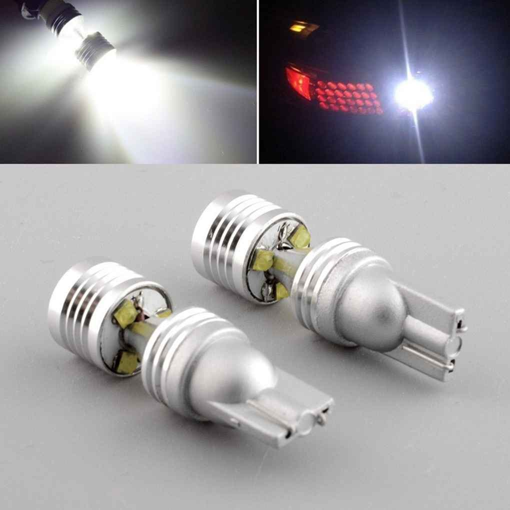 4.2x1.1CM de alta potencia de las luces blancas 10-30V 30W T10 6LED de los bulbos para el coche Correr Automó vil Ancho de luz de Topker carretera