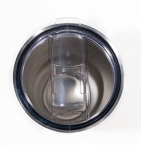 EKOwares Splash Resistant Replacement Lid for 30 oz. Stainless Steel Tumbler, Clear