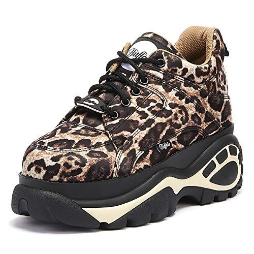 Sneaker Buffalo 14 London 1337 Leopard Donna 1Xq1Tr