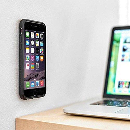 Anti Gravity Case para Apple Iphone 6 Plus / 6s Plus 5.5 Pulgadas Smart Slim Case Book Cover Stand Flip (Negro) NUEVO
